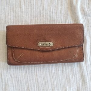 Fossil billfold wallet